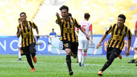 Luqman Hakim jebolan Timnas Malaysia U-18 diklaim media Negeri Jiran bakal segera merumput di Eropa. - INDOSPORT
