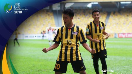 Luqman Hakim (10), penyerang Malaysia U-16 - INDOSPORT