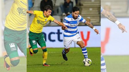 Jordy Tutuarima dipercaya untuk bermain penuh oleh pelatih De Graafschap saat menjalani pekan ke-15 Eerste Divisie melawan AZ Alkmaar II. - INDOSPORT