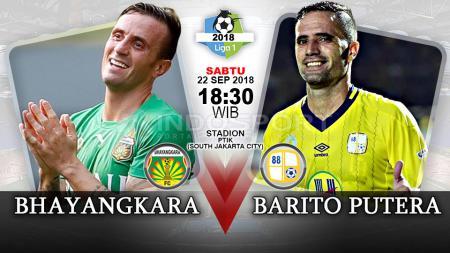 Bhayangkara FC vs Barito Putera (Prediksi) - INDOSPORT