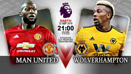 Manchester United vs Wolverhampton. - INDOSPORT