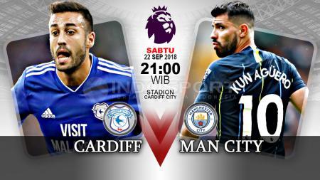 Cardiff vs Manchester City. - INDOSPORT