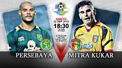 Indosport - Persebaya vs Mitra Kukar (Prediksi)