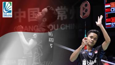 Anthony Ginting lolos ke final China Open 2018. - INDOSPORT
