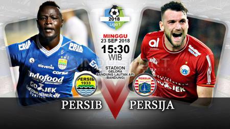 Persib Bandung vs Persija Jakarta (Prediksi) - INDOSPORT