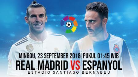 Real Madrid vs Espanyol. - INDOSPORT
