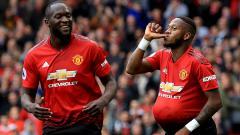 Indosport - Fred berselebrasi usai menetak gol debut untuk Man United saat melawan Worlverhampton.