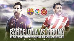 Indosport - Barcelona vs Girona.
