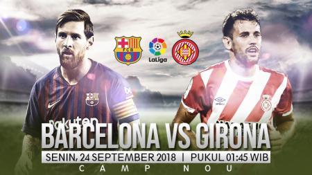 Barcelona vs Girona. - INDOSPORT