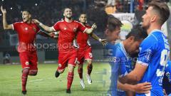 Indosport - 3 alasan Persija Jakarta bisa hancurkan Persib di Bandung.