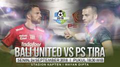 Indosport - Bali United vs PS TIRA.