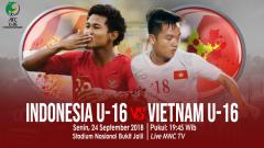 Indosport - Indonesia U-16 vs Vietnam U-16.