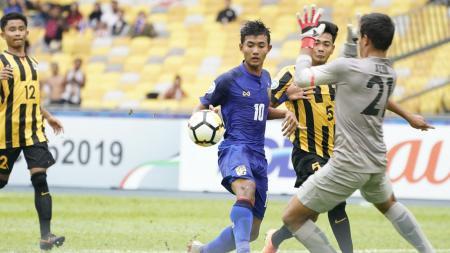 Thailand U-16 vs Malaysia U-16 - INDOSPORT
