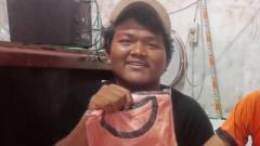 Indosport - Haringga Sirla, korban oknum pengeroyokan di wilayah Stadion GBLK