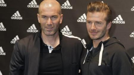 Zidan dikabarkan akan menjadi pelatih di Inter Miami, klub yang dimiliki oleh David Beckham. - INDOSPORT