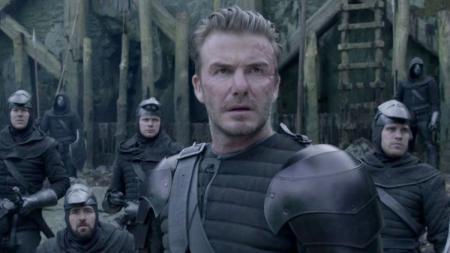 David Beckham saat tampil di film King Arthur. - INDOSPORT