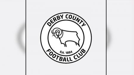 Logo Derby County. - INDOSPORT