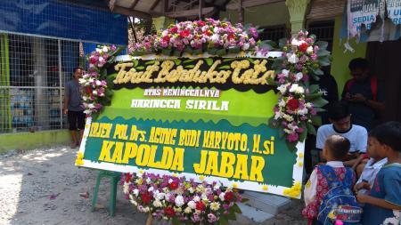 Suasana Pemakaman Haringga Sirila - INDOSPORT