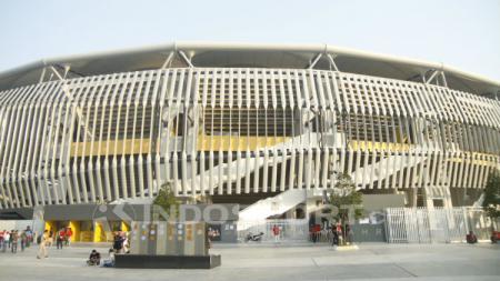 Stadion Bukit Jalil jelang laga Piala Asia U-16 2018. - INDOSPORT