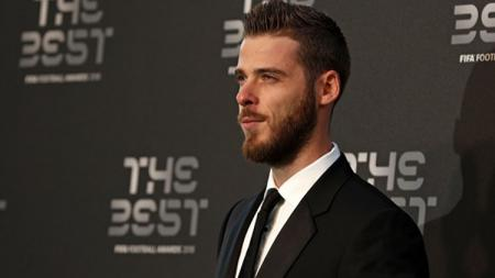 David De Gea hadir di acara FIFA The Best 2018. - INDOSPORT
