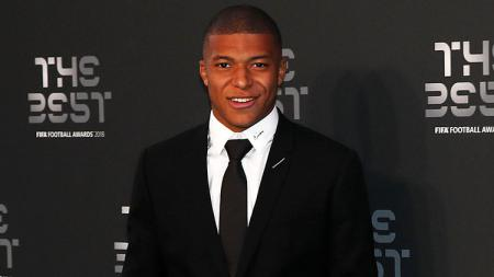 Kylian Mbappe di acara FIFA The Best 2018. - INDOSPORT