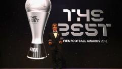 Indosport - Luka Modric' terpilih sebagai pemain terbaik FIFA