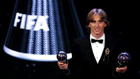 Luka Modric' terpilih sebagai pemain terbaik FIFA - INDOSPORT