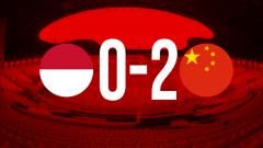 Indosport - Indonesia vs China U-19.