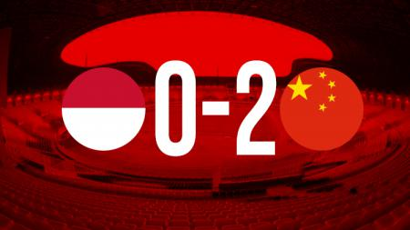 Indonesia vs China U-19. - INDOSPORT