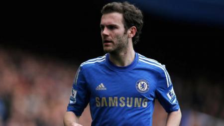 Juan Mata Saat Masih Berseragam Chelsea - INDOSPORT