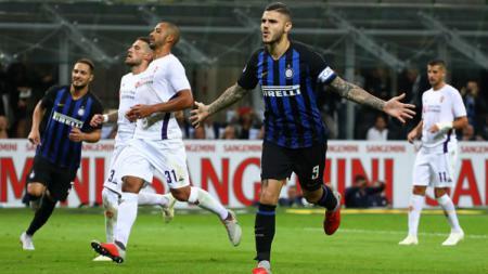Kembalinya Mauro Icardi memperkuat Inter Milan mendapat sambutan hangat dari Radja Nainggolan. - INDOSPORT