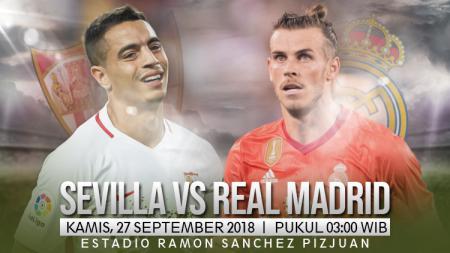 Sevilla vs Real Madrid. - INDOSPORT