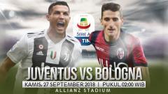 Indosport - Juventus vs Bologna.