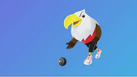 Bowling Lapangan (Lawn ball) di Asian Para Games 2018. - INDOSPORT