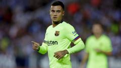 Indosport - Philippe Coutinho membawa Barcelona unggul 1-0