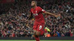 Indosport - Skuat Liverpool merayakan gol Sturridge