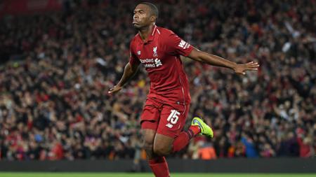 Skuat Liverpool merayakan gol Sturridge - INDOSPORT