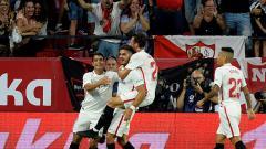 Indosport - Selebrasi gol Andre Silva