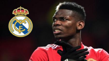 Real Madrid tetap bisa mendatangkan pemain bintang Manchester United, Paul Pogba, tanpa harus menjual Gareth Bale. - INDOSPORT