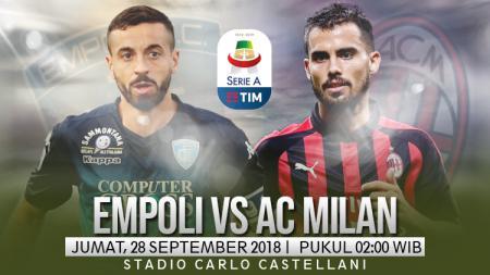 Empoli vs AC Milan. - INDOSPORT
