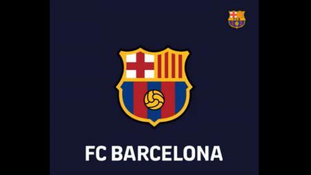 Rencana logo baru Barcelona. - INDOSPORT