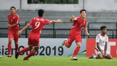Indosport - Timnas Korea Utara vs Oman di Piala Asia U-16