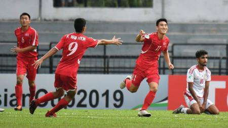 Timnas Korea Utara vs Oman di Piala Asia U-16 - INDOSPORT