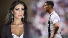 Indosport - Kathryn Mayorga dan Cristiano Ronaldo.
