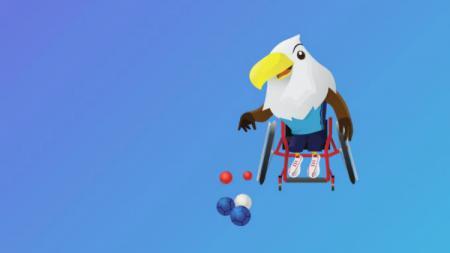 Boccia di Asian Para Games 2018 - INDOSPORT
