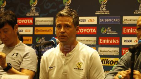 Trevor Morgan, pelatih Australia U-23 yang pernah kubur mimpi timnas Indonesia ke Piala Dunia U-17. - INDOSPORT