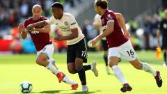 Indosport - West Ham akan menjamu Manchester United pada pekan ke-11 Liga Inggris 2020/2021 di London Stadium, Minggu (06/12/20) dini hari WIB.