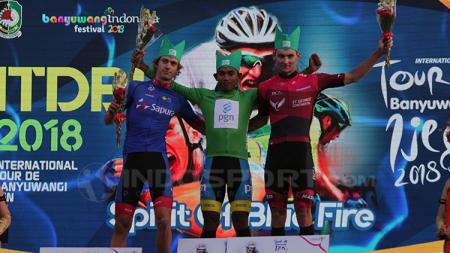 Jamilidin Novardianto berhasil menjadi raja sprint. - INDOSPORT