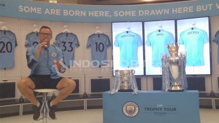 Paul Dickov, legenda Manchester City. - INDOSPORT