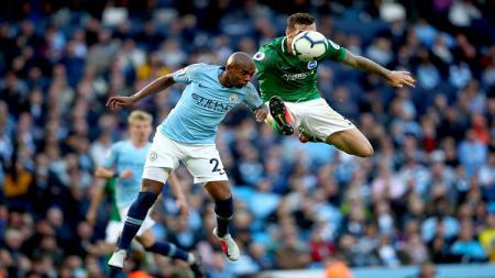 Manchester City vs Brighton - INDOSPORT